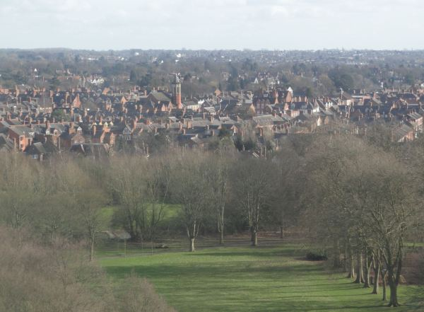 Vista de Leicester desde la Attenborough Tower. Foto R.Puig