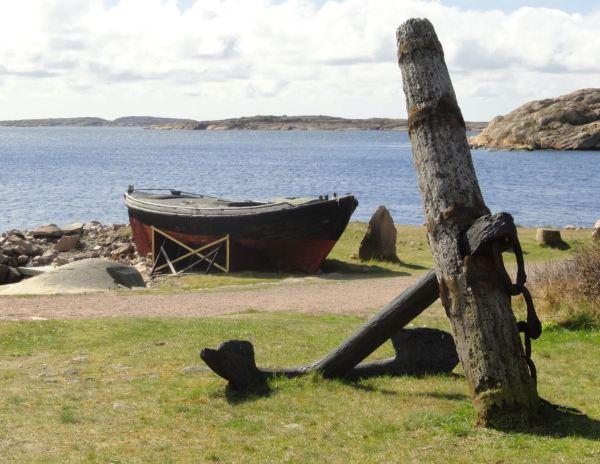 Bote de pesca del s. XIX. Lyserkil. Foto R.Puig