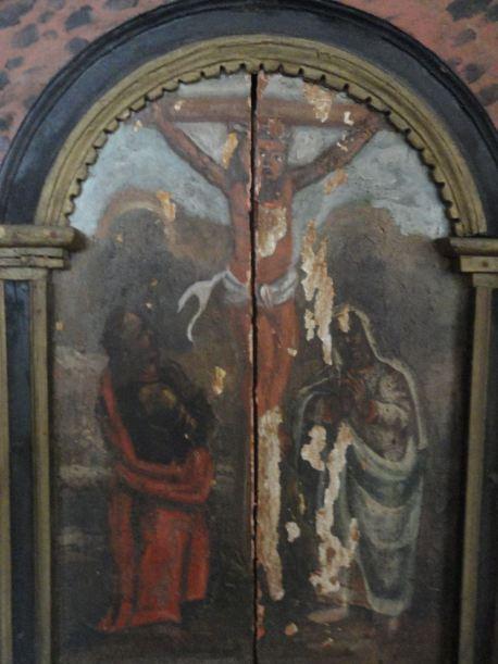 Crucifixión. Iglesia de Lyserkil. Foto R.Puig
