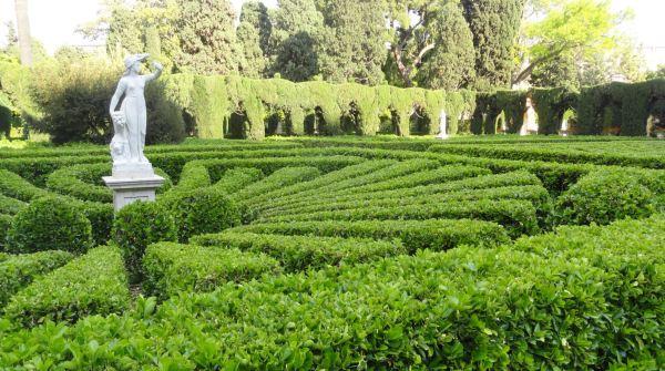 En los jardines de Monforte. Valencia. Foto R.Puig