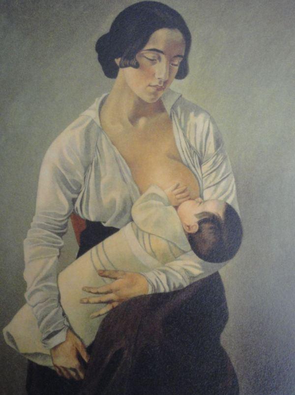 Gino Severini. Maternidad. 1916. Museo de la Accademia Etrusca e della Città di Cortona