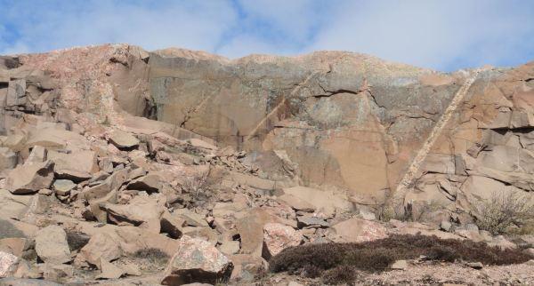 Las canteras abandonadas de Lyserkil. Foto R.Puig