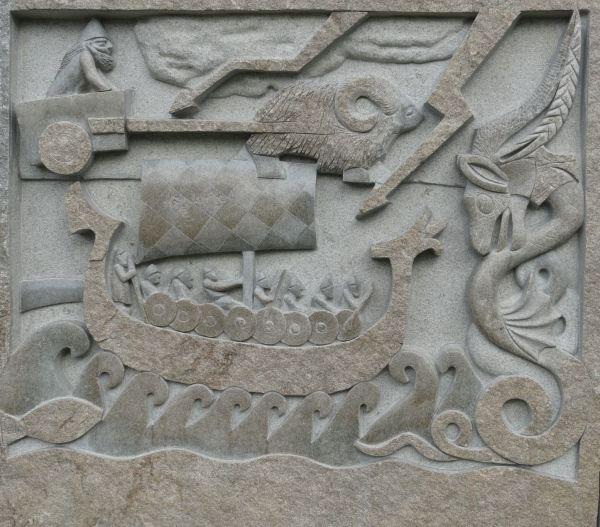 Memorial de tiempos idos. Los vikingos. Lyserkil. Foto R.Puig