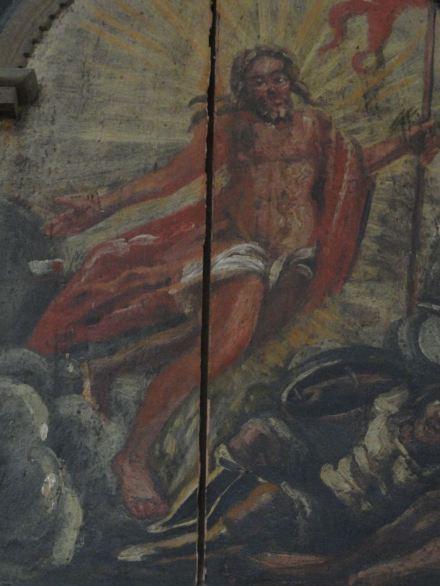 Resurrección. Iglesia de Lyserkil. Foto R.Puig