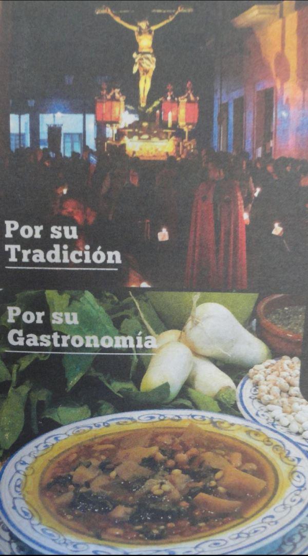 Rezar y manjar. Foto Diario Información de Alicante