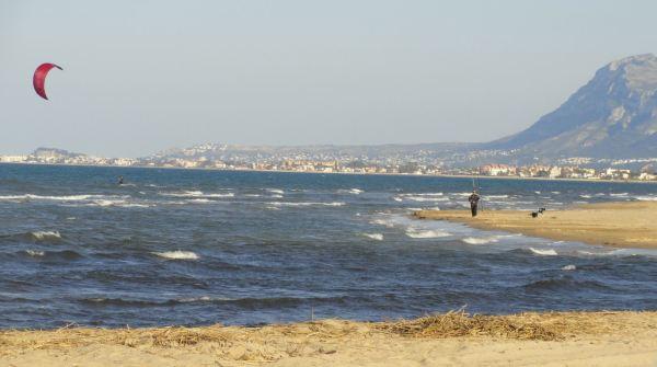 Semana Santa en la desembocadura del Molinell. Foto R.Puig
