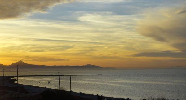 Atardecer 16 de mayo 2017. Playa Almadrava. Els Poblets. Foto R.Puig