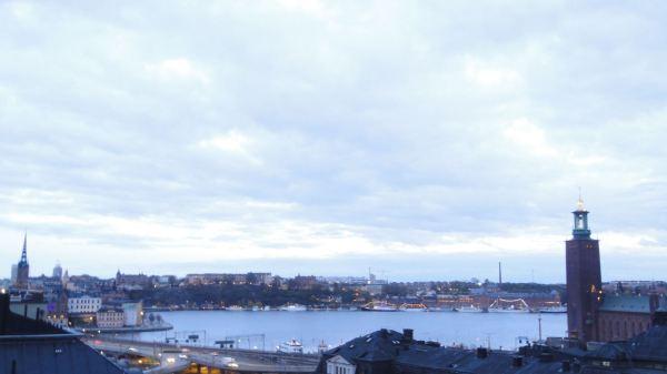 Atardecer desde la terraza del hotel Estocolmo. Foto R.Puig