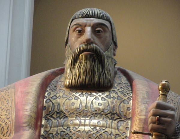 Carl MIlles. Gustaf Vasa. Nordiska Museet.Foto R.Puig.JPG