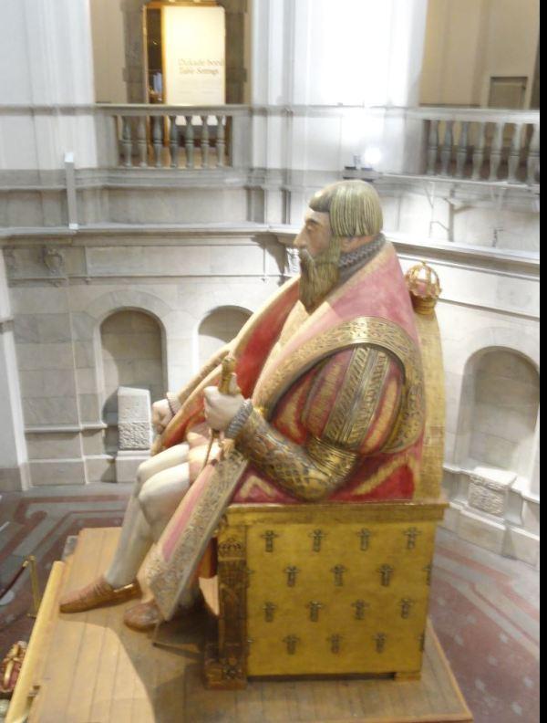 Carl MIlles. Gustaf Vasa. Nordiska Museet. Foto R.Puig