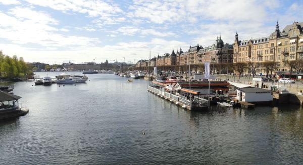 Desde el puente de Djurdsgarden. Estocolmo.Foto R.Puig