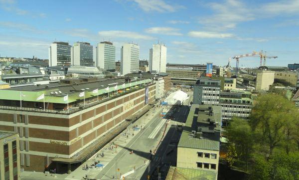 Estocolmo a vista de hotel. Foto R.Puig