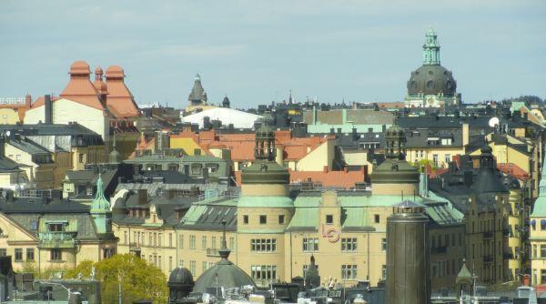 Habitación con vistas al sindicato socialista. Estocolmo. Foto R.Puig