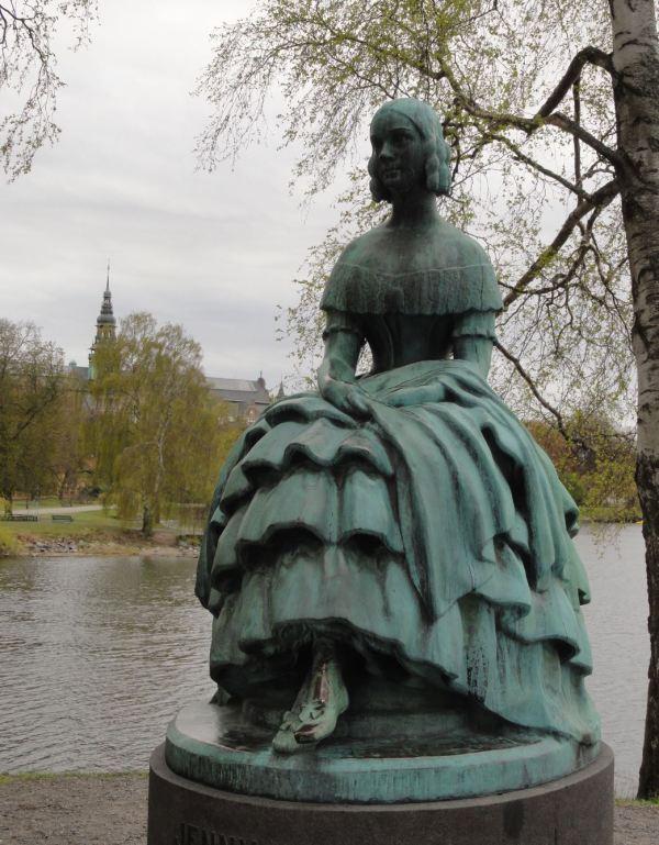 Jenny Lind por Erik Rafael Radberg. 1924. Estocolmo. Foto R.Puig