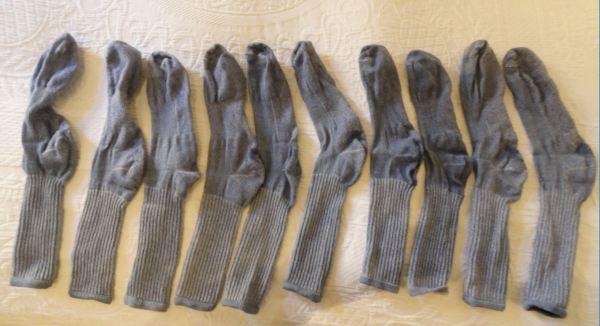 Mis calcetines en formación. Foto R.Puig