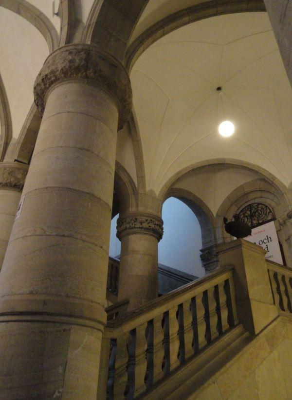 Nordiska Museet. Escalinatas. Foto R.Puig