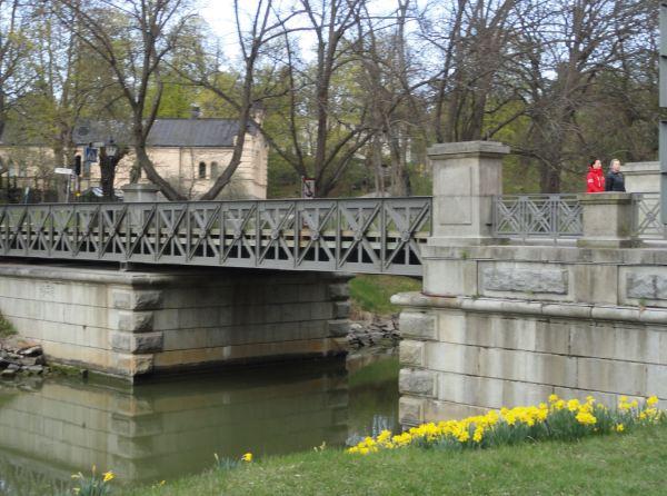 Puente de acceso a Ladugardsgardet desde Djurdgarden. Estocolmo. Foto R.Puig