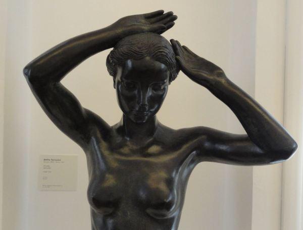 Attilo Torresini, Afrodita. 1930 34. Bronce. Detalle Galería Comunal de Arte Moderno. Foto R.Puig