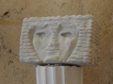 Boceto en arcilla de Aretusa. R.Puig