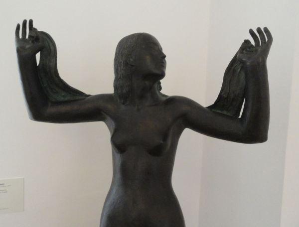 Guido Galletti. Venus con tres amorcillos. 1939. Detalle. Bronce. Galería Comunal de Arte Moderno. Foto R.Puig