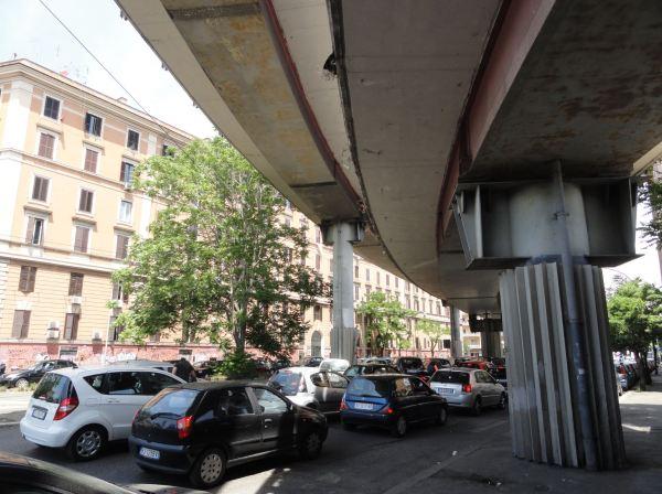 Atasco romano. Foto R.Puig