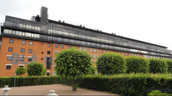 La casa azul. Eriskberg. Gotemburgo. Foto R.Puig