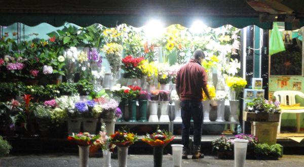 Las noches del florista. Foto R.Puig