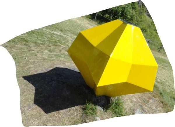 Life capsule. Pia Hedström. Pilane 2017. Foto R.Puig