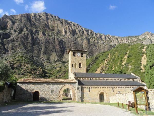 Monasterio de Santa María de Alaón. S.XII. Sopeira Huesca. Foto R.Puig