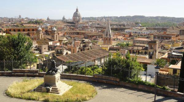 Vista desde el Pincio. R.Puig