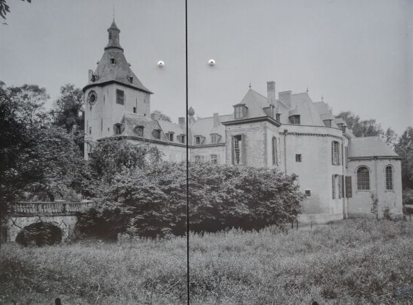 Castillo Prinsenhof. Grimbergen. 1917