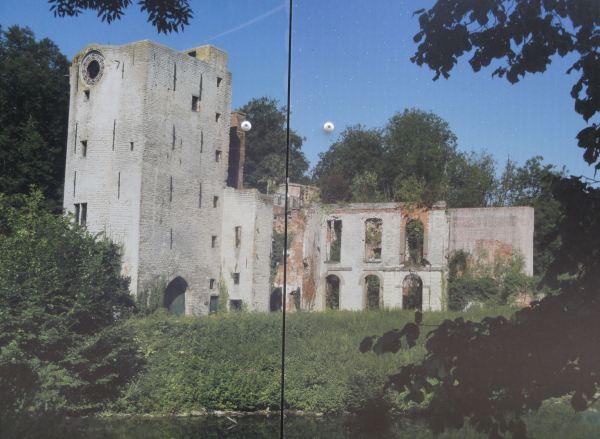 Castillo Prinsenhof. Grimbergen. Ruinas