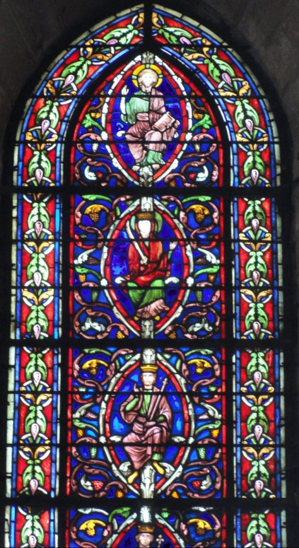 Catedral de Troyes. El árbol de Jesé. Detalle. Foto R.Puig