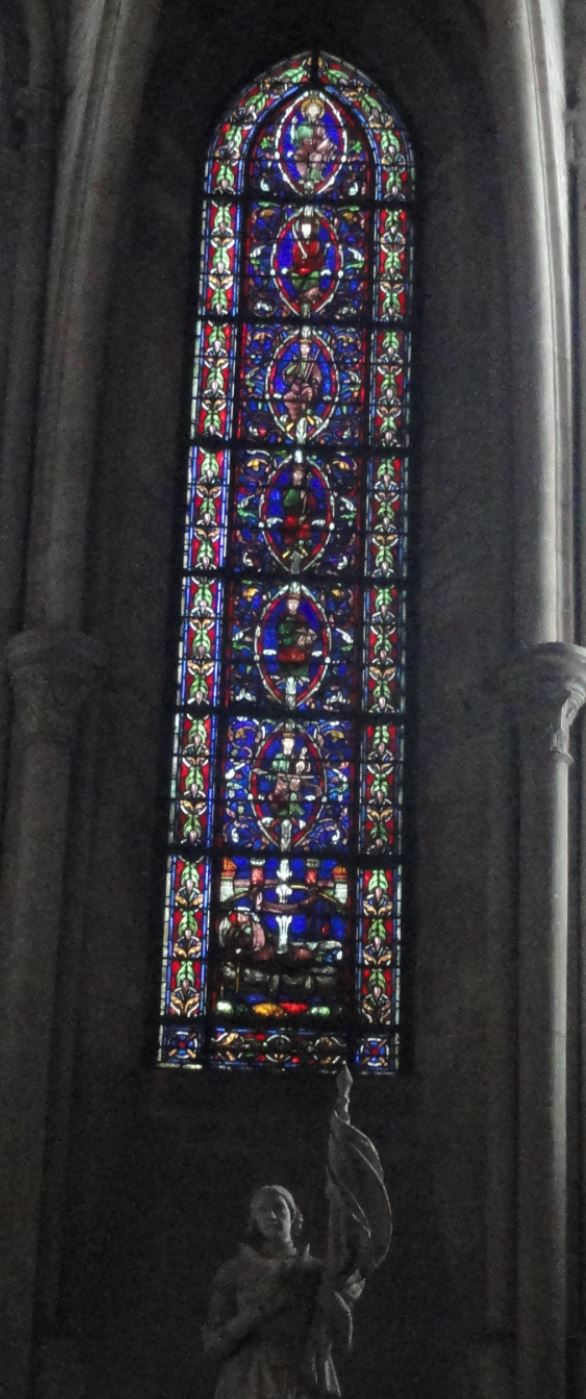 Catedral de Troyes. El árbol de Jesé. Foto R.Puig