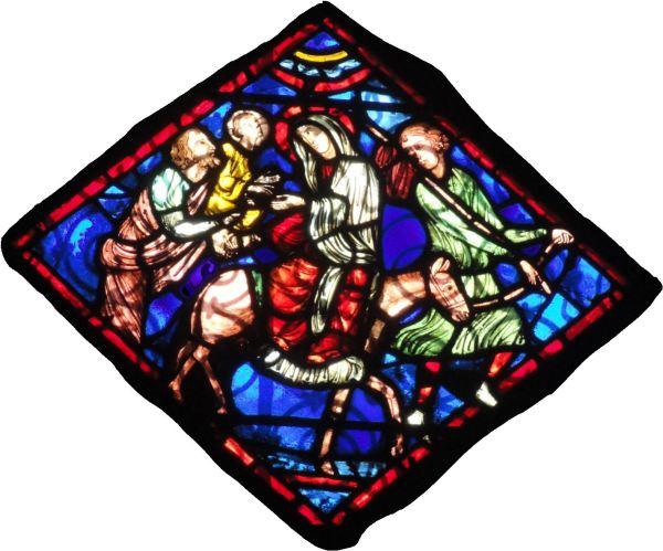 Catedral de Troyes. Escena de la vida de San Andrés. Foto R.Puig