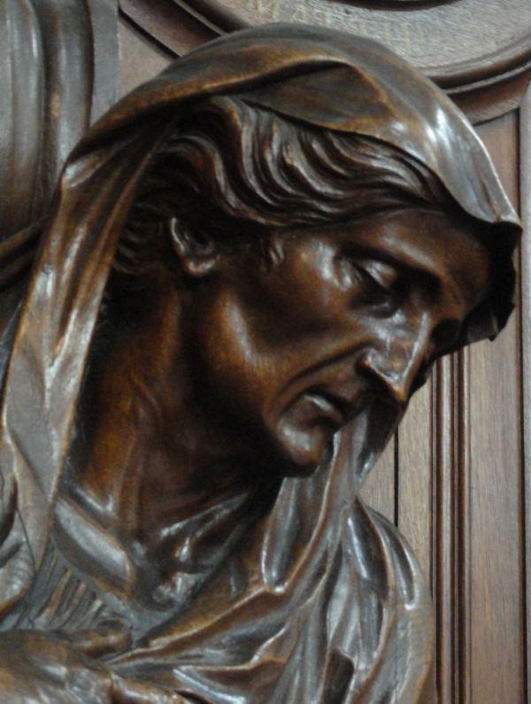 Confesionario de Nuestra Dulce Señora. La Amargura. Grimbergen. Foto R.Puig
