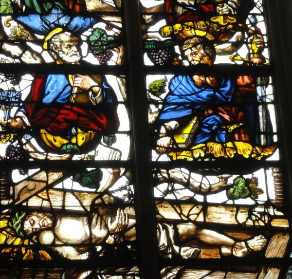 Cristo vinífico. Catedral de Troyes. Foto R.Puig