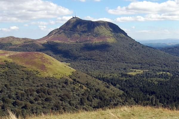 El Puy de Dôme. Auvernia. Fuente Turismo en Auvergne