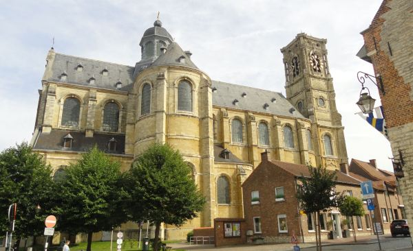 Iglesia abacial de Grimbergen. 1620 a 1725. Foto R.Puig