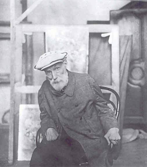 Renoir en 1912. Archivos Vollard. París. Museo de Orsay.