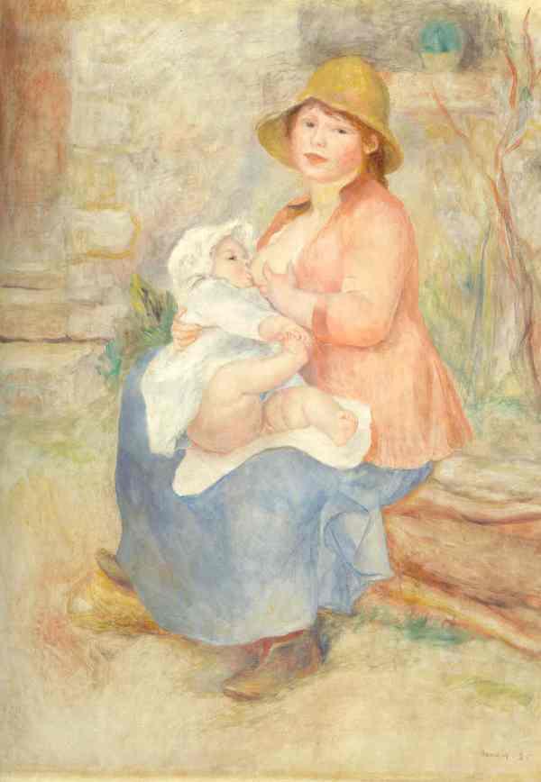Renoir. Maternidad. 1885. París. Museo de Orsay