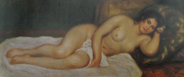 Renoir. Mujer desnuda acostada. 1903. Colección particular.