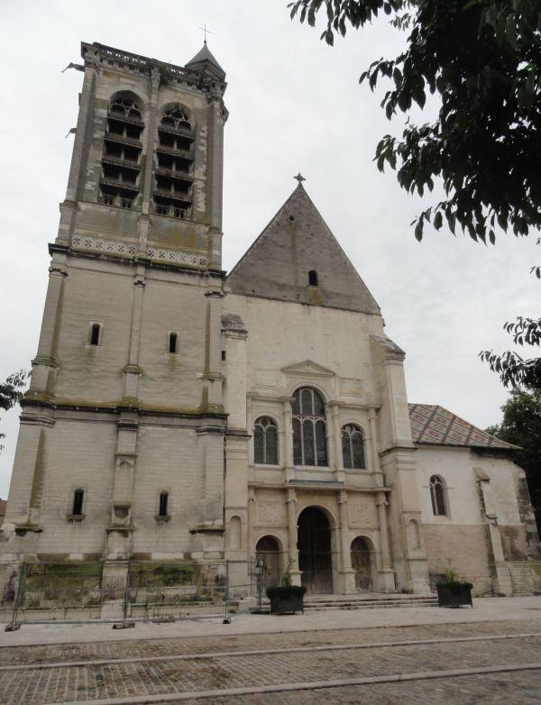 Troyes. Fachada de Saint-Nizier. Foto R.Puig