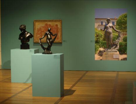 Troyes. Museo de Arte Moderno. En la exposición Renoir. Foto R.Puig