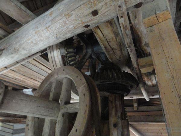Engranajes del viejo molino. Foto R.Puig