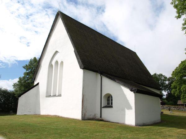 Iglesia de Härkeberga. Foto R.Puig