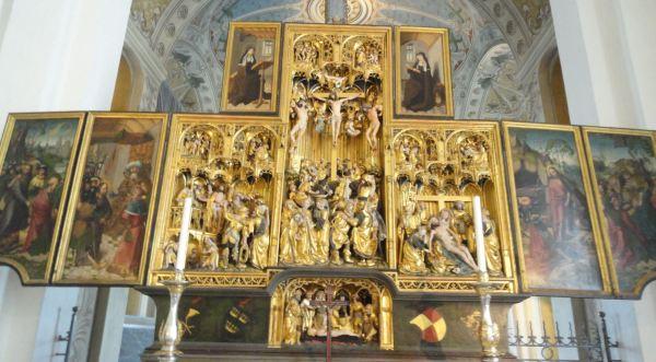 Iglesia de Vekholms. Retablo flamenco del s.XVI. Foto R.Puig