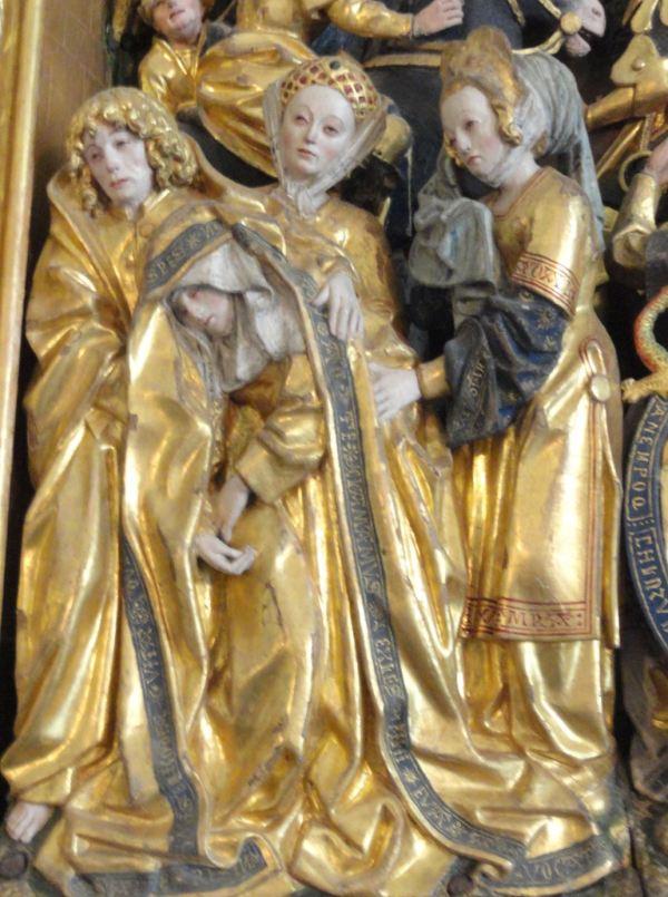 Iglesia de Vekholms. Retablo flamenco del s.XVI. Las santas mujeres. Foto R.Puig