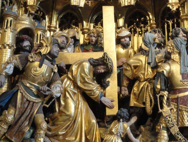 Iglesia de Vilberga. Via Crucis. Retablo flamenco del s.XVI. Foto R.Puig