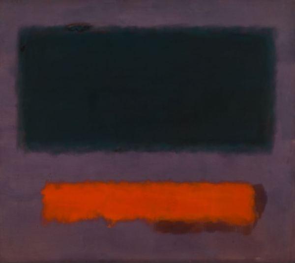 Mark Rothko. Oragen on Maroon. 1960. Museo Boijmans Van Beuningen.
